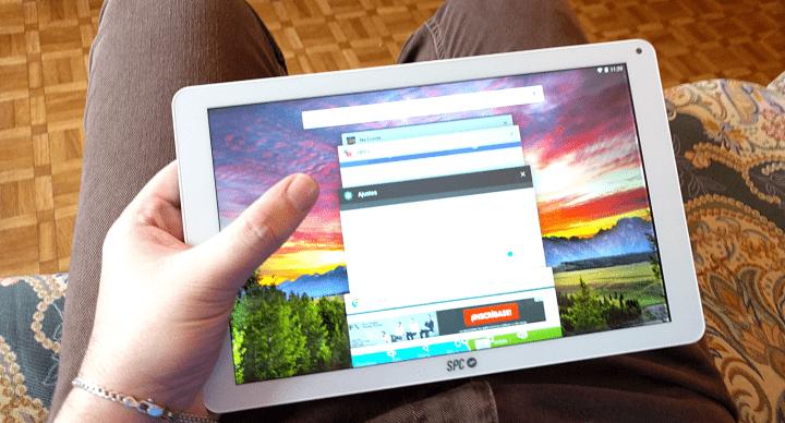 Imagen - Review: SPC Heaven 10.1, una tablet metálica con 64 GB de almacenamiento a un gran precio