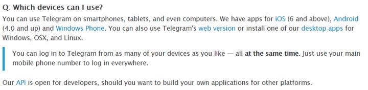 Imagen - Telegram ya no funciona en versiones antiguas de Android