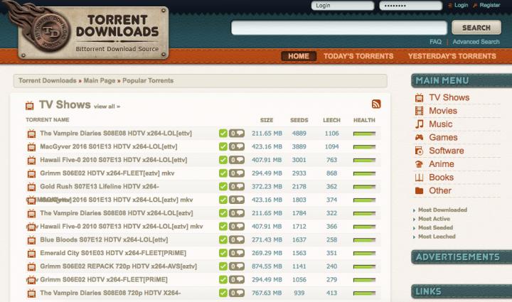 Imagen - Los 10 sitios más populares de torrents en 2017