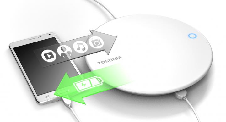 Imagen - Toshiba Canvio for Smartphone, el disco para cargar el móvil y hacer copias de seguridad