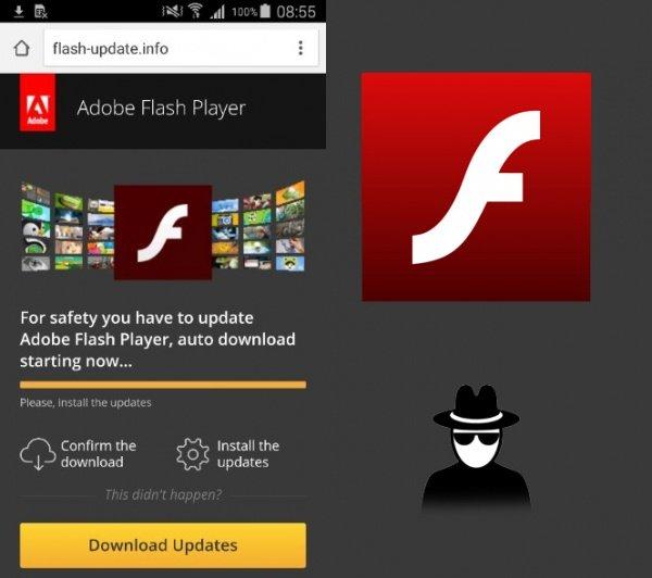 Imagen - Cuidado con la falsa actualización de Flash para Android