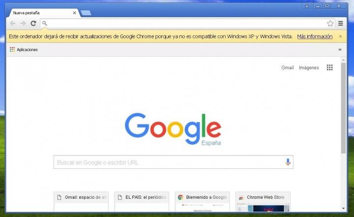 Imagen - Gmail dejará de funcionar en Chrome 53 y versiones anteriores