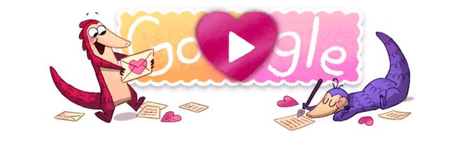 Imagen - Google estrena San Valentín con unos juegos en forma de Doodle