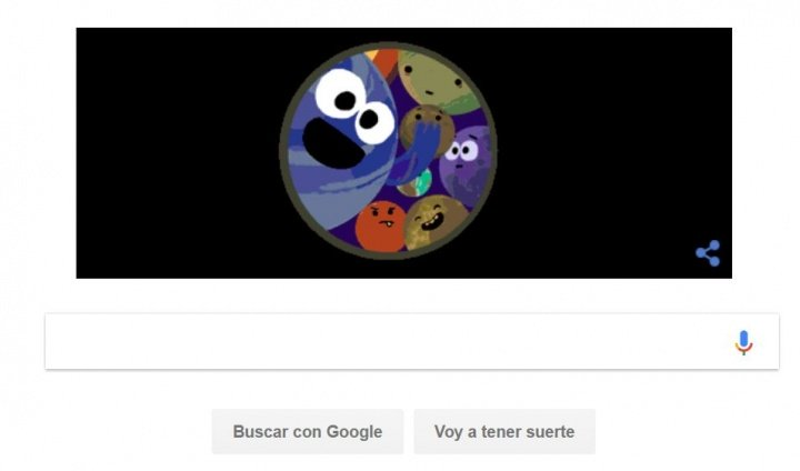 Imagen - Google añade un Doodle por el descubrimiento de los exoplanetas