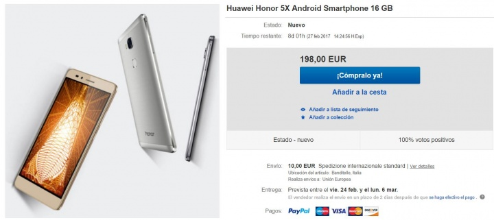 Imagen - Dónde comprar el Honor 5X