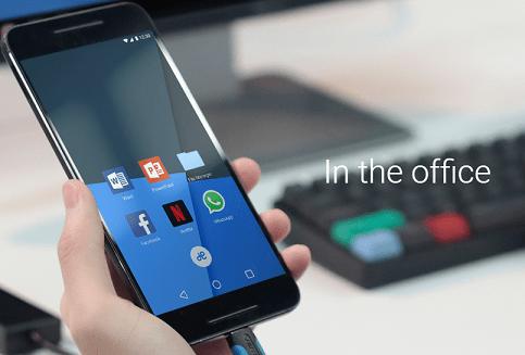 Imagen - Remix Singularity, tu móvil Android podrá convertirse en ordenador