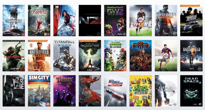 Imagen - Juega gratis durante 7 días a los juegos de Origin Access