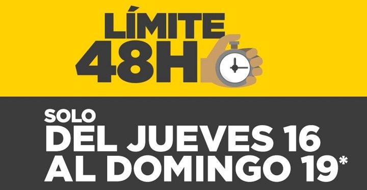Vuelve el Límite 48 horas de El Corte Inglés hasta el domingo