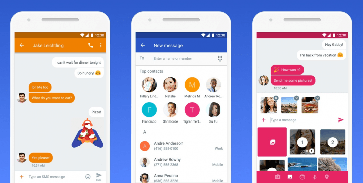 "Imagen - Google renombra la app ""Mensajes"" a ""Mensajes de Android"""