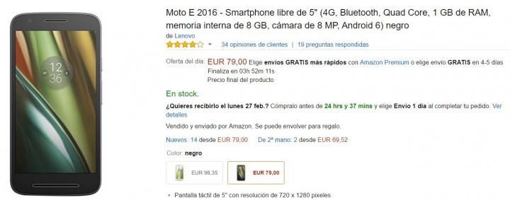 Imagen - Conoce las ofertas de Amazon por el Mobile World Congress 2017