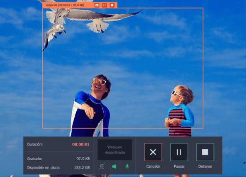 Imagen - Grabación de pantalla con Movavi Screen Capture