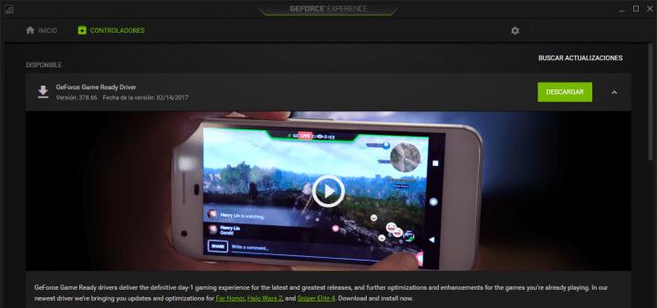 Imagen - Nvidia GeForce 378.66 WHQL, ya disponible para descargar los drivers