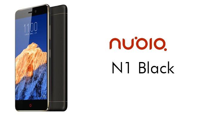 Nubia N1 Black llega en una nueva versión de 3 GB de RAM y 64 GB de almacenamiento