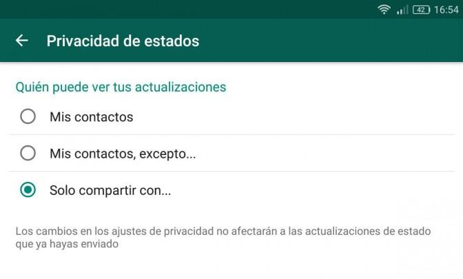 Imagen - ¿Cómo desactivar los Estados de WhatsApp?