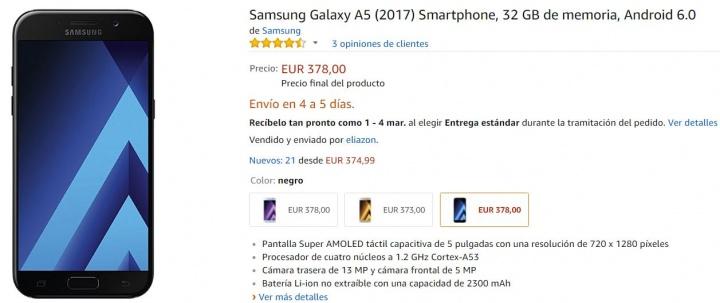 Imagen - 5 tiendas donde comprar el Samsung Galaxy A5 (2017)
