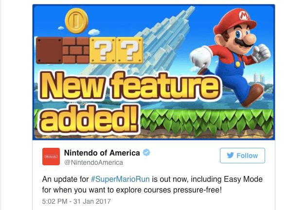 Imagen - Super Mario Run añade un modo fácil