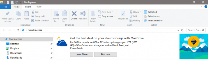 Imagen - Cómo desactivar los anuncios del Explorador en Windows 10