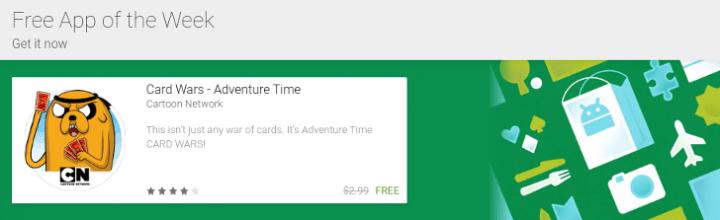 """Imagen - Google Play tendrá una sección de """"app gratis de la semana"""""""