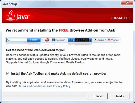 Imagen - La barra del navegador Ask te infecta con malware
