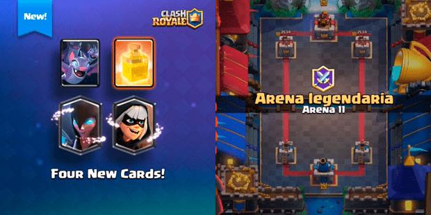 Imagen - Clash Royale lanzará Arena 11, un nuevo nivel legendario