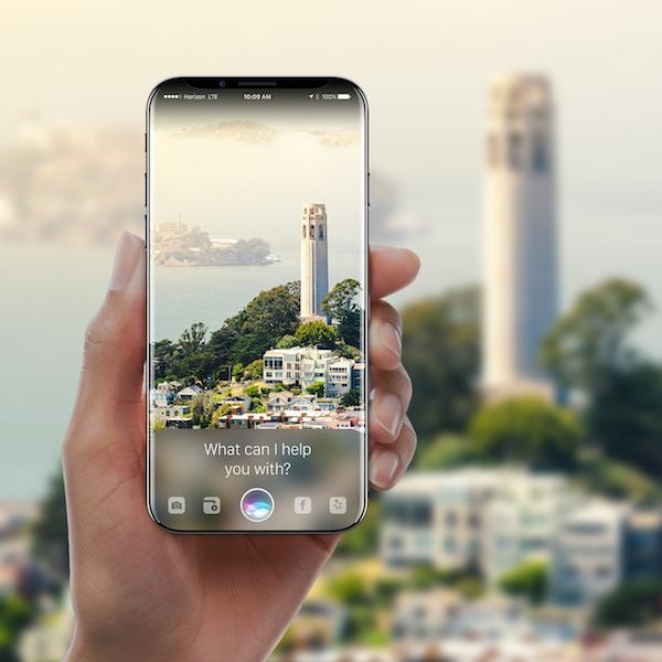Imagen - Conoce este curioso concepto de iPhone sin bordes