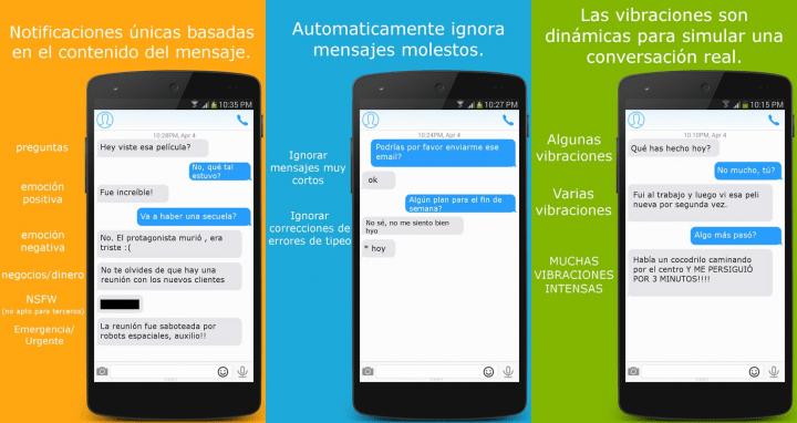 Imagen - Converbration, la app que permite saber qué mensajes responder