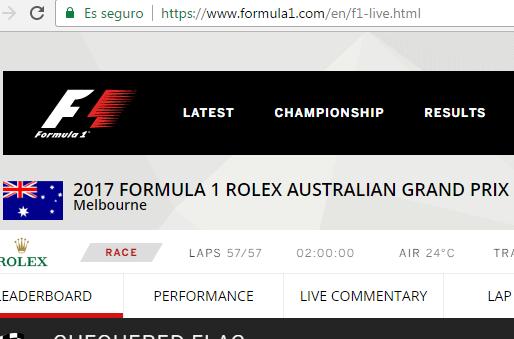 Imagen - Cómo ver la Fórmula 1 2017 online
