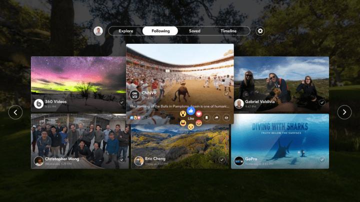 Imagen - Facebook 360 para Samsung Gear VR permite ver fotos y vídeos en 360 grados