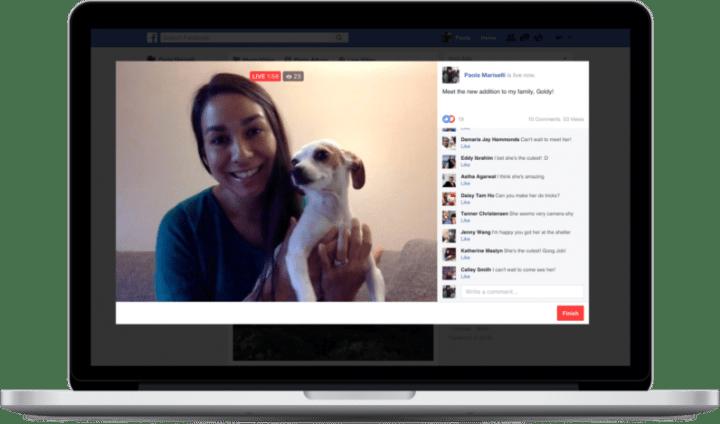Imagen - Facebook Live ya permite hacer directos desde el ordenador