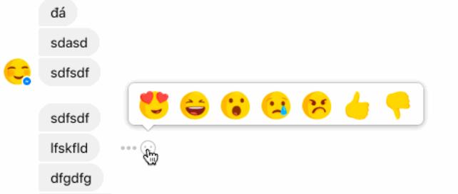 Imagen - Las reacciones de Facebook podrían llegar pronto a Facebook Messenger