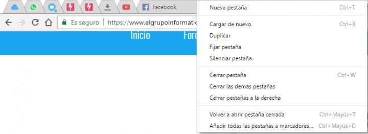 Imagen - ¿Qué es Fijar pestaña en Chrome y Firefox?