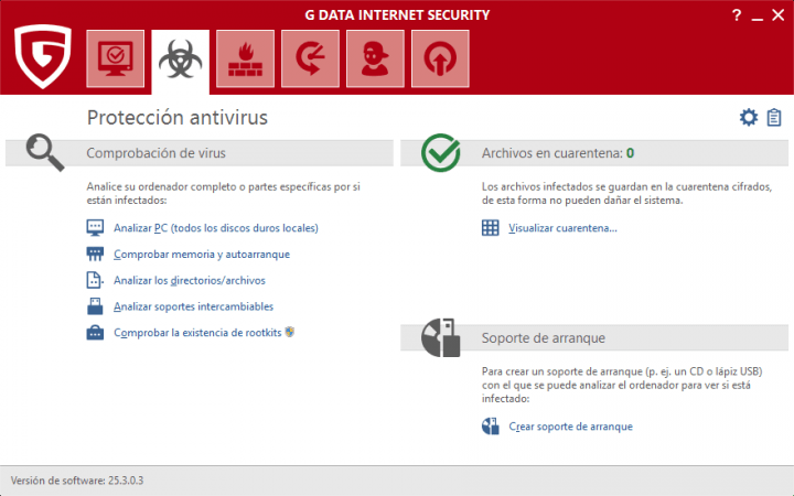 Imagen - Review: G DATA Internet Security 2017, la solución para mantener tu PC seguro