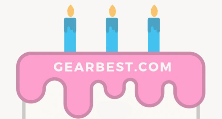 Imagen - Oferta: tecnología desde 0,99 dólares por el tercer aniversario de GearBest