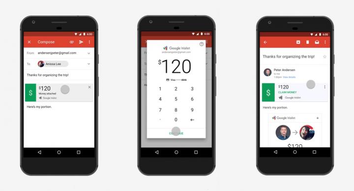 Imagen - Gmail para Android ya permite enviar y solicitar dinero
