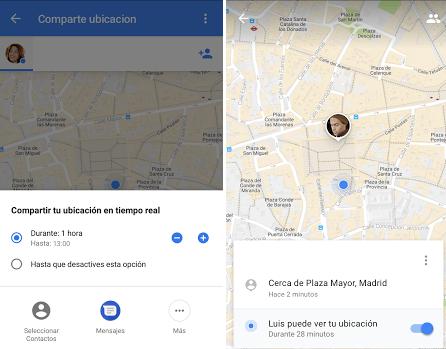 Imagen - Google Maps nos dejará compartir nuestra localización en tiempo real