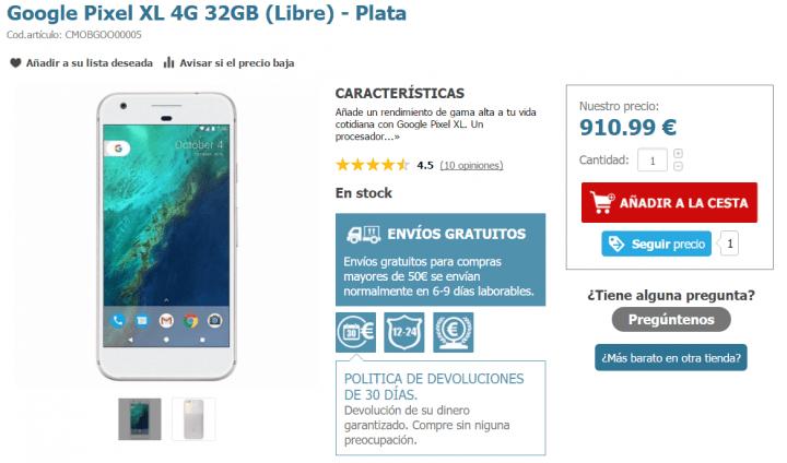 Imagen - Dónde comprar el Google Pixel XL