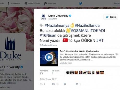 Imagen - Hackean cuentas de Twitter para llenarlas de mensajes nazis