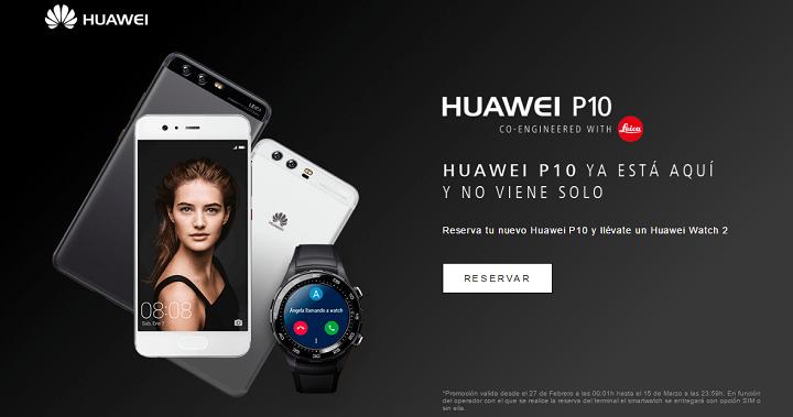 Imagen - Los primeros compradores del Huawei P10 se llevan un Huawei Watch 2