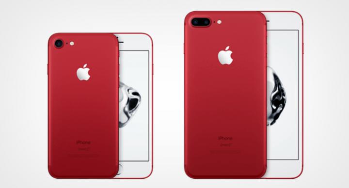 Imagen - iPhone 7 e iPhone 7 Plus Product Red, la edición en rojo con fines solidarios