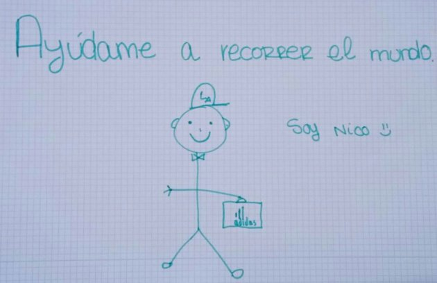 Imagen - Nico, el dibujo que ha recorrido el mundo, se hace viral