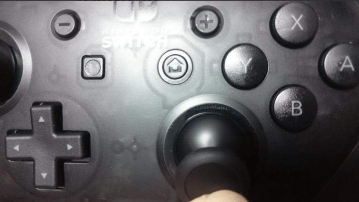 El mando de Nintendo Switch esconde un huevo de pascua