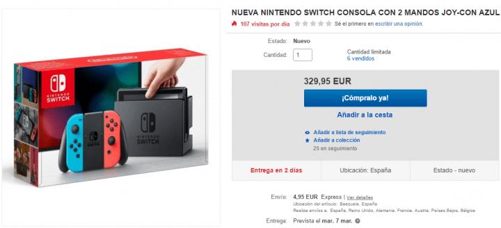 Imagen - Dónde comprar la Nintendo Switch