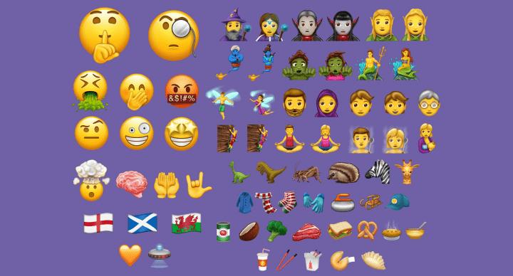 Imagen - Los emojis de 2018 permitirán escoger la dirección a la que miran