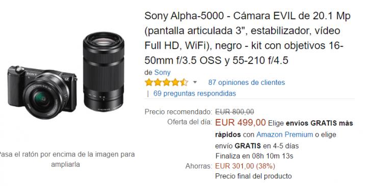 Imagen - Conoce las ofertas de Amazon por la Sony Deal Week