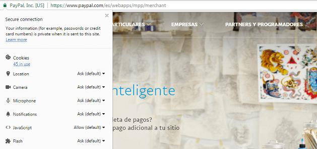 Imagen - Detectada una nueva web falsa que se hace pasar por PayPal