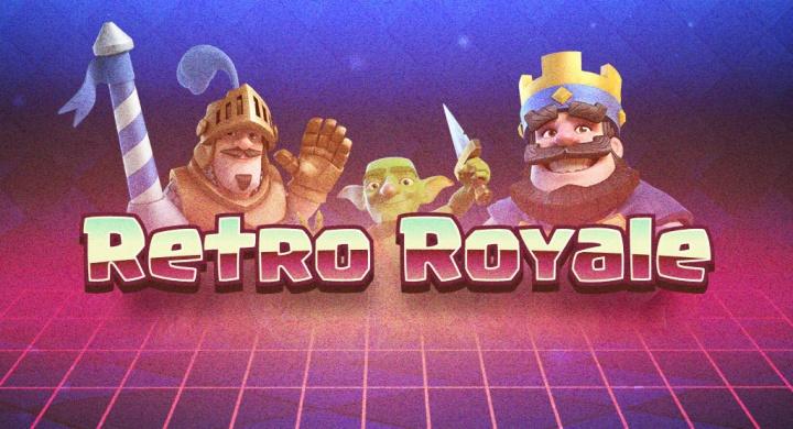 Clash Royale cumple un año y presenta: Retro Royale