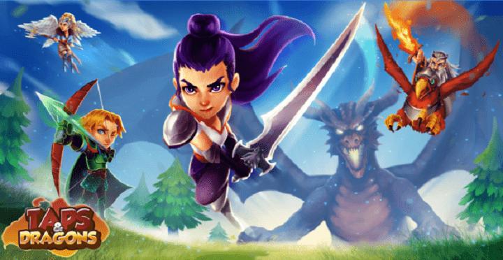 Taps&Dragons, el RPG-Clicker español, ya disponible en Android