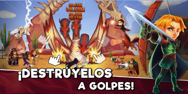 Imagen - Taps&Dragons, el RPG-Clicker español, ya disponible en Android