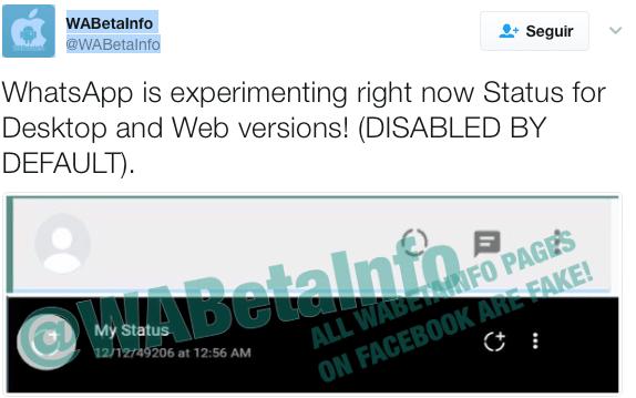 Imagen - Los Estados de WhatsApp llegarán a la versión web y al ordenador