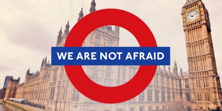 Las redes sociales se llenan de #WeAreNotAfraid tras el atentado de Londres